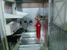 02941 - Модуль газового пожаротушения МГП 150-3-15, примененный для защиты термошкафа с аппаратурой. МИПС 2017.