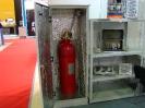 02942 - Модуль газового пожаротушения МГП АТАКА в термошкафу на стенде ООО